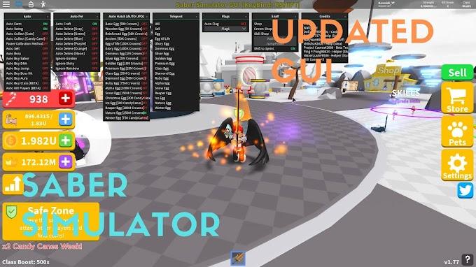 Saber simulator GUI