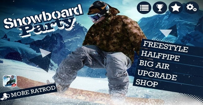 تحميل لعبة التزحلق على الجليد Snowboard للكمبيوتر