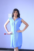 Telugu Actress Mounika UHD Stills in Blue Short Dress at Tik Tak Telugu Movie Audio Launch .COM 0125.JPG