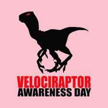 National Velociraptor Awareness Day Wishes Beautiful Image