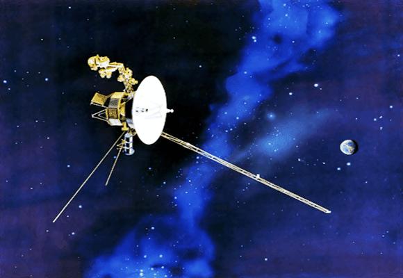 Terra-espaçonave-Voyager