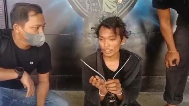 Positif Narkoba, Pembakar Mimbar Masjid Raya Makassar Tes Darah