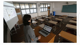 Ministry of Education in South Korea closes most schools in Seoul area to battle resurgent virus