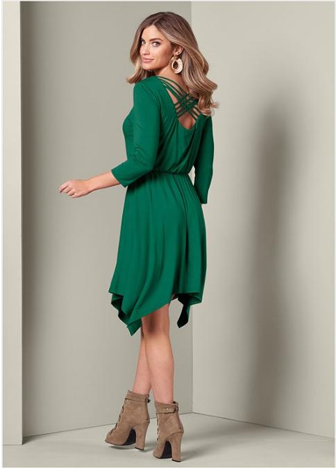 STRAPPY DETAIL DRESS