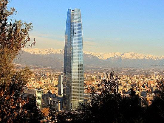 Prédios mais altos de cada continente - Gran Torre Santiago