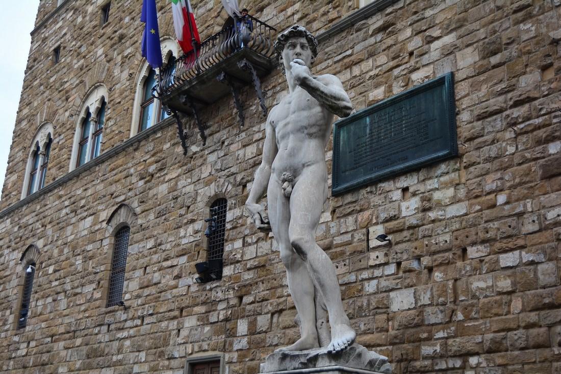 David Michel ange copie Palazzo Vecchio
