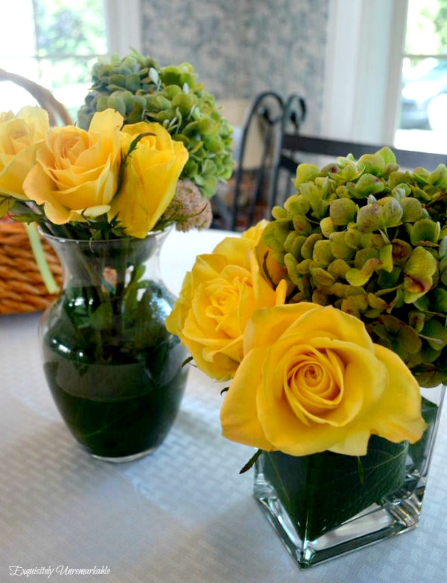 Garden and Grocery Store DIY Floral Arrangements
