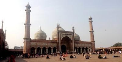 masjid jama delhi