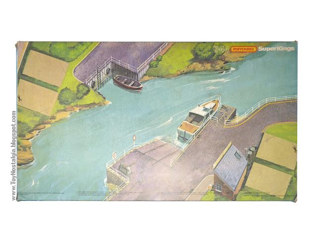 MATCHBOX - Super Kings - Construction Bridge Layer  K-44 Caja Dorso - Made in England - 1981 (Lesney England)