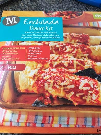 morrisons enchilada kit