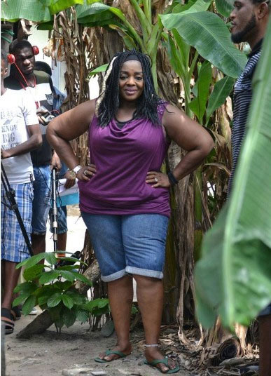 Uche Ogbodo to the rescue as she claps back on fan who said Rita Edochie is fat