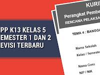 RPP K13 Kelas 5 Semester 1 dan 2 Revisi Terbaru