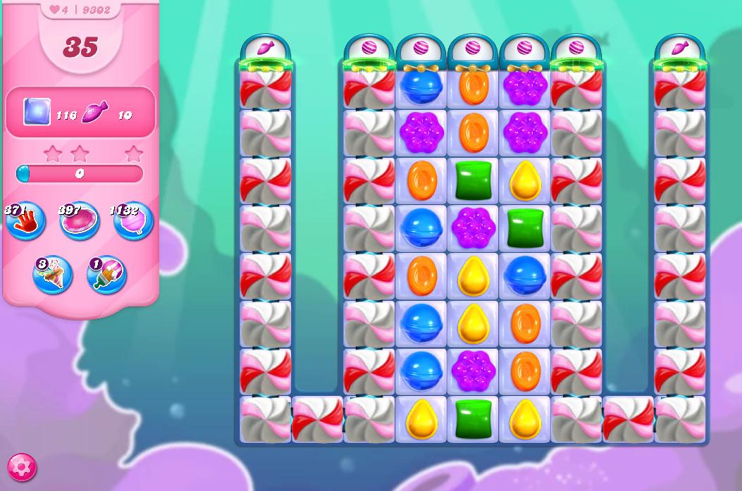 Candy Crush Saga level 9302