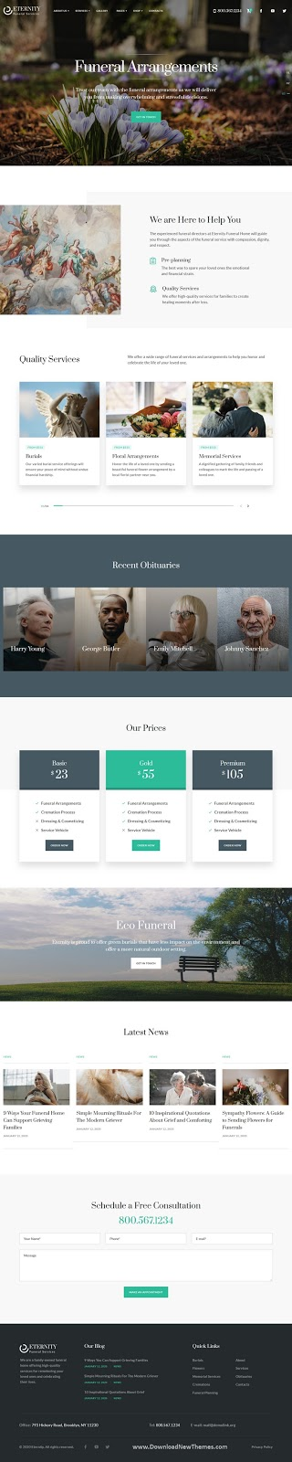 Funeral Services Template