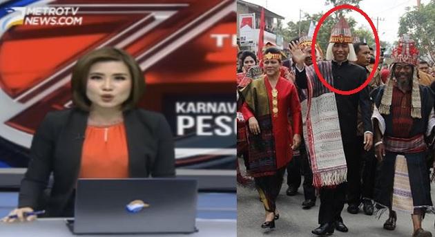 MetroTV Tipu Rakyat Indonesia Dengan Sebut Jokowi Presiden Pertama ke Samosir?