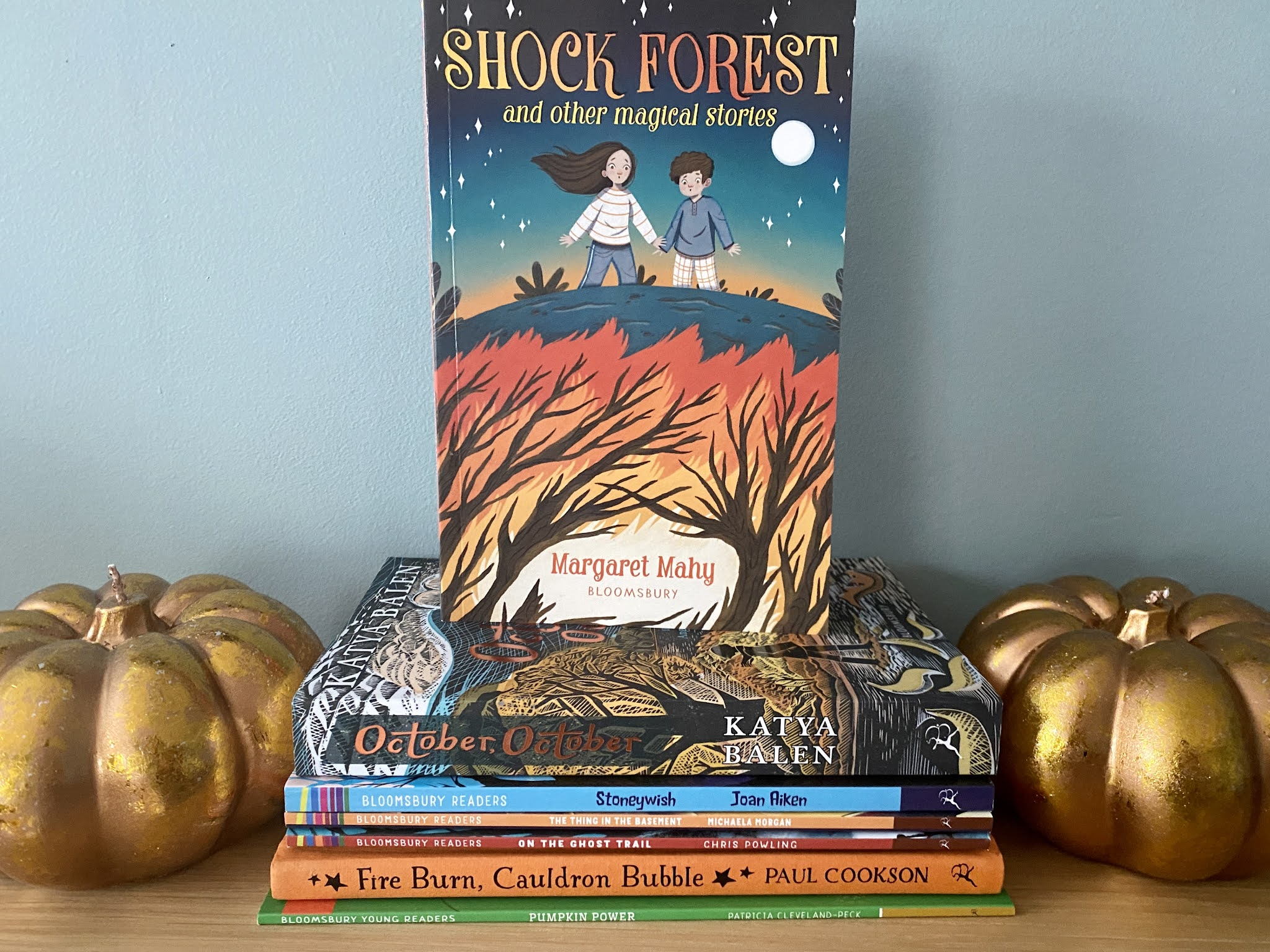 shock forest book