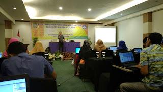 Proktor SMP Juara Pekanbaru ikuti Pelatihan Proktor Se -Riau