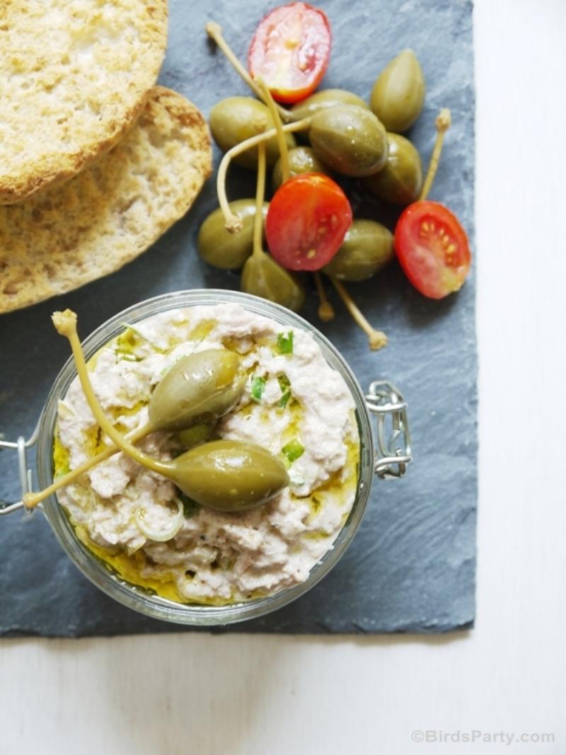 Easy Summer Appetizers - Tuna Paté