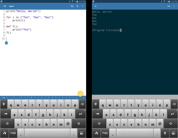 Pydroid 3 – Educational IDE for Python 3 v2 2 [Modded] [Premium