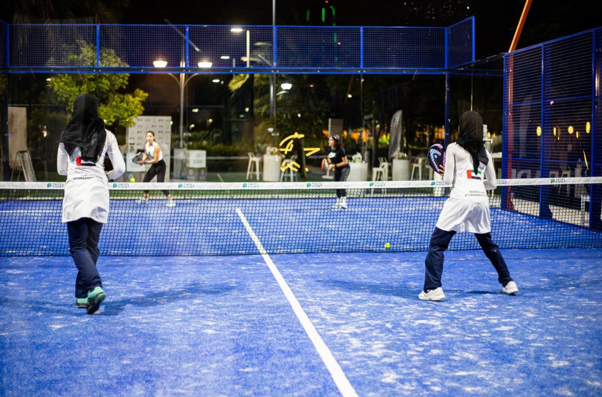 نادي زعبيل: الإمارات تختتم منافسات بطولة البادل تنس الرمضانية للسيدات