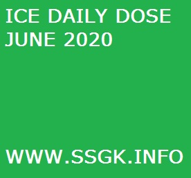 ICE DAILY DOSE JUNE 2020