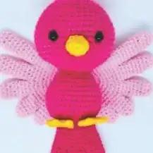 Amigurumi Pájarita Crochet
