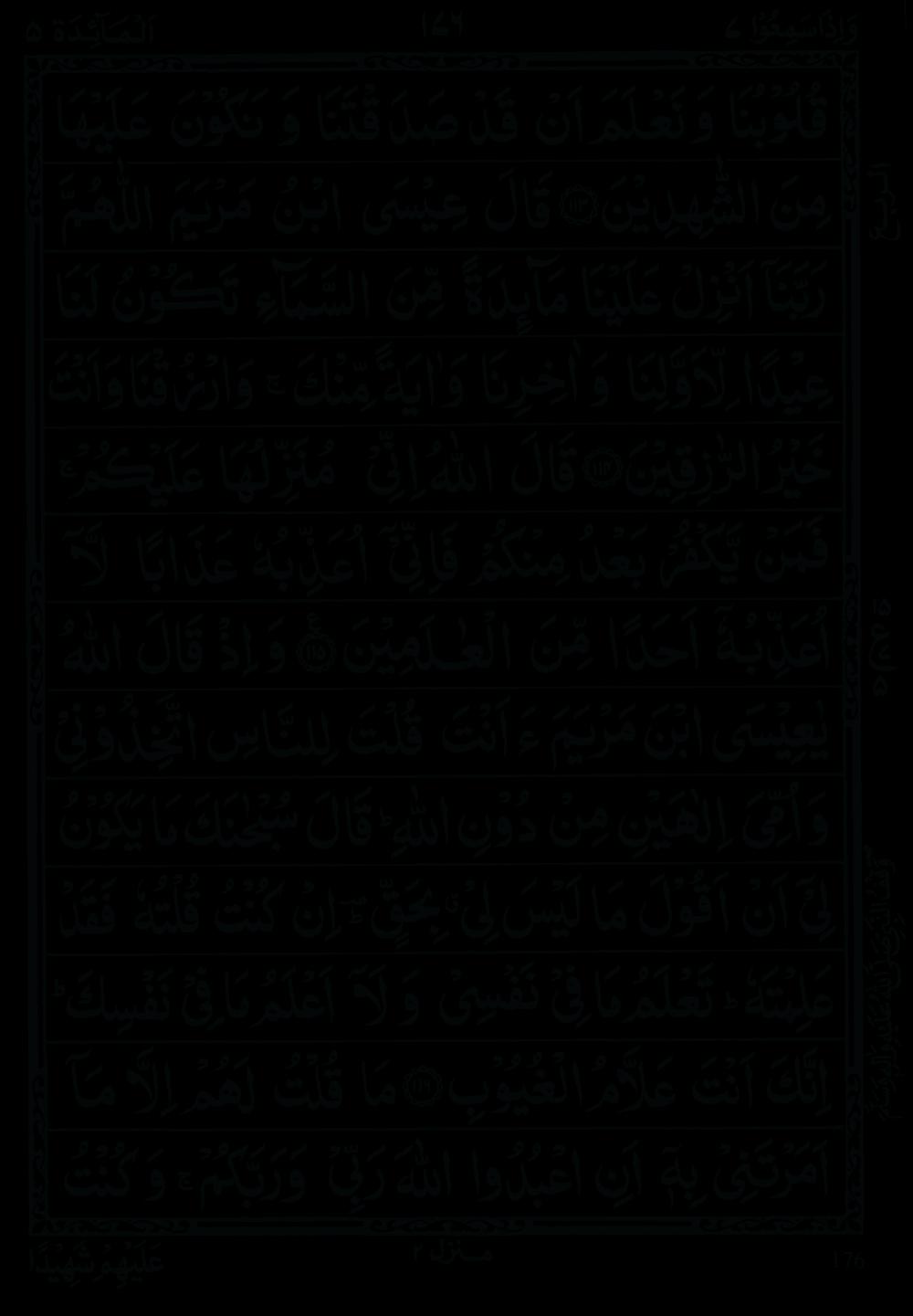 Quran Para 7 (Wa Iza Samiu) 7th Para Recite Online and PDF