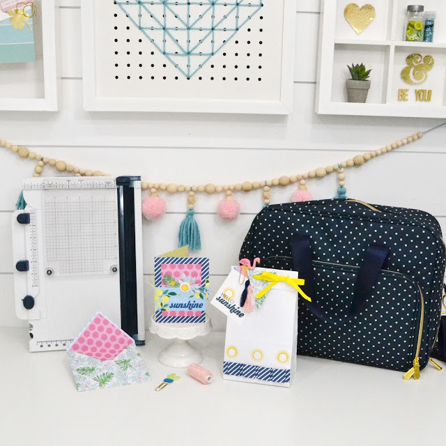 The Works All In One Tool and Storage Bag by We R Memory Keepers available at HSN