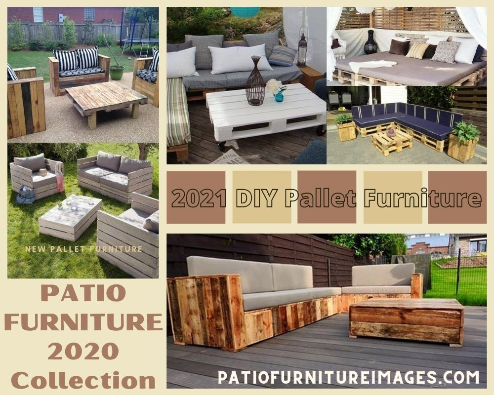 pallet patio furniture images