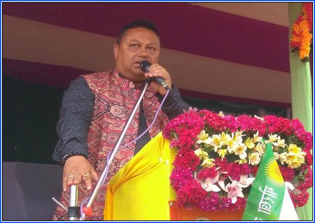 Anit Thapa in Mungpoo