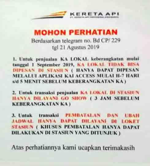 Harga Tiket Kereta Api Harga Tiket Kereta Api Info Jadwal