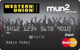 Save in the New Year with the Western Union mun2 Reloadable Prepaid MasterCard