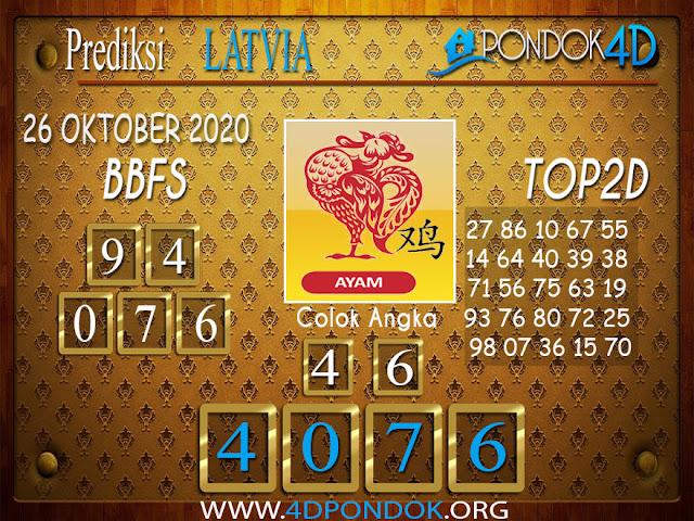 Prediksi Togel LATVIA PONDOK4D 26 OKTOBER 2020