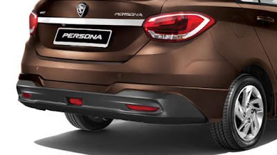 New 2016 Proton Persona rear view HD Image Gallery
