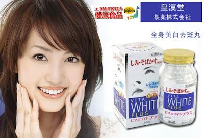 Công dụng tuyệt vời của viên uống vita white plus