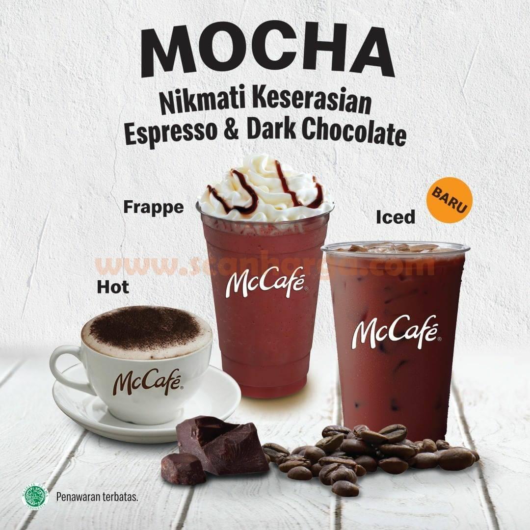 McDonalds Mocha series menu Baru di McCAFE