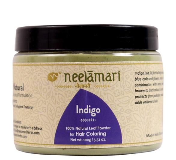 Neelamari Pure Indigo Leaf Powder (100g)