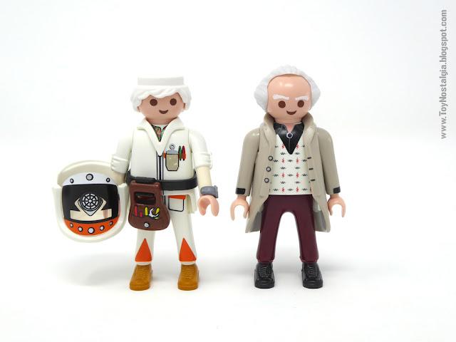 Versiones de Doc Brown Playmobil Regreso al Futuro - Calendario de Adviento (Playmobil Back To The Future - Calendario de Adviento)