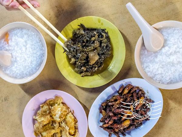 Newday Porridge 新園清香粥 @ Lorong Selamat, Georgetown, Penang