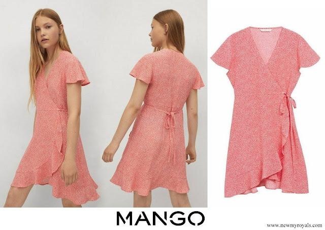 Crown Princess Leonor wore Mango Day Dress