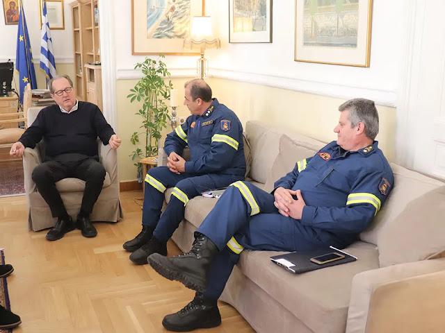 200.000 ευρώ από την Περιφέρεια Πελοποννήσου στην Πυροσβεστική Υπηρεσία