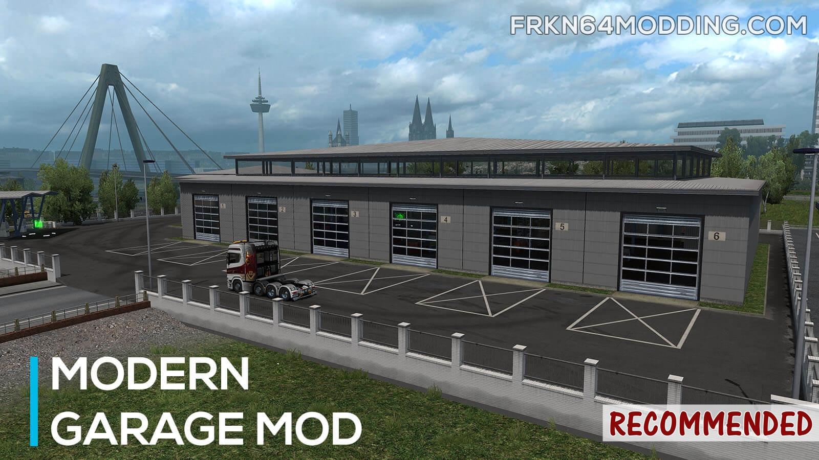 Sinagrit Baba's Workshop: ETS 2 - Modern Garage Mod v1 4 by