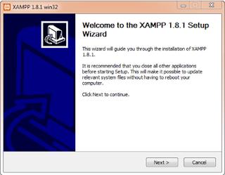 Cara Instal XAMPP Di Windows 10