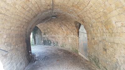 like a tunnel