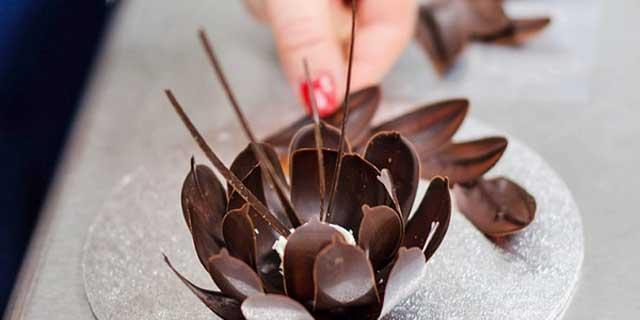 пирог с шоколадной стружкой