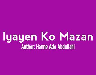 Iyayen Ko Mazan