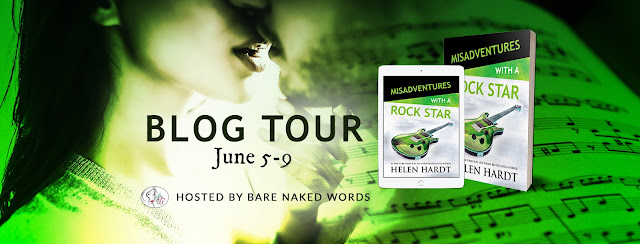 Release Blitz + My Book Review MISADVENTURES WITH A ROCK STAR by Helen Hardt