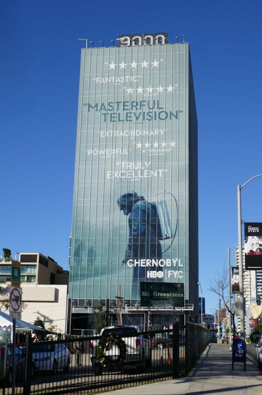 Giant Chernobyl 2019 FYC billboard