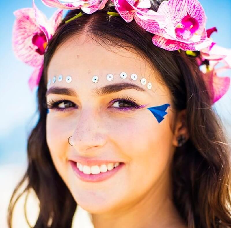 Maquiagens fáceis para carnaval