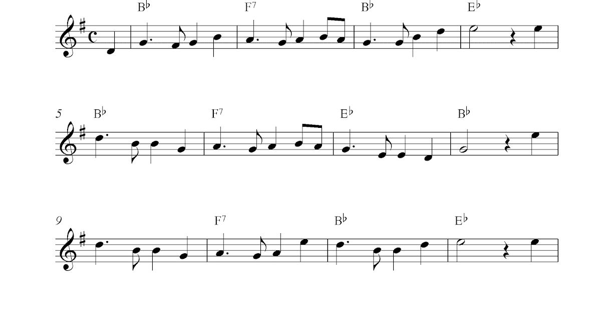 Auld Lang Syne Sheet Music Easy